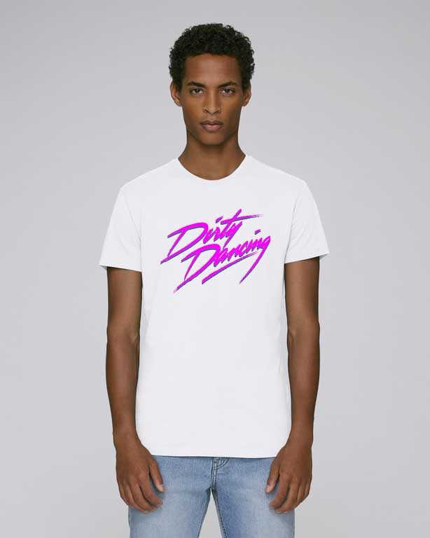 dirty-dancing tshirt leads blanc model